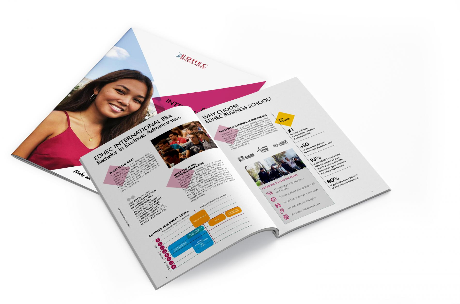 EDHEC International BBA brochure