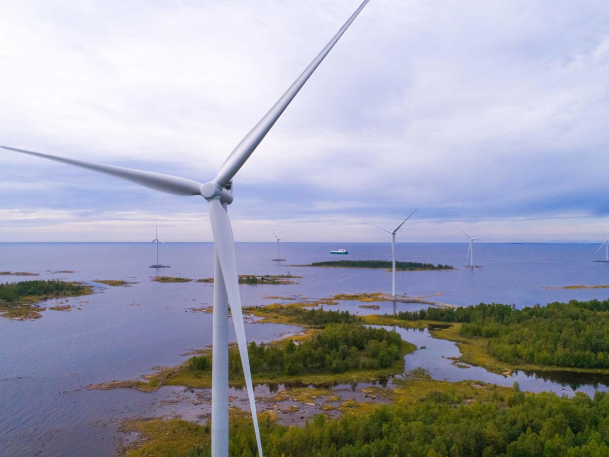 Wind farm acquired by Goodyields Capital