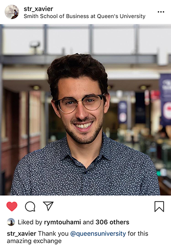 Xavier Stortini EDHEC International BBA
